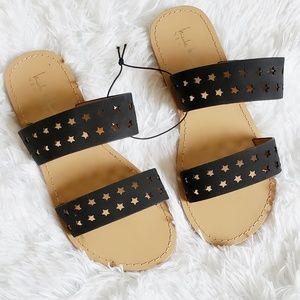 Nicole Miller Open-Toe Sandals